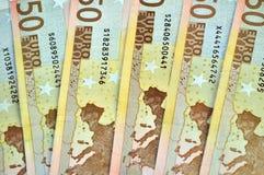 примечание евро Стоковая Фотография RF