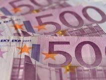 примечание евро Стоковое Фото