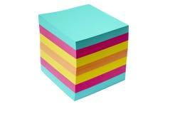примечание кубика Стоковое Фото