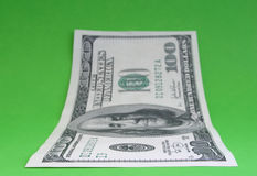 примечание одно доллара 100 Стоковые Изображения RF