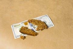 примечание одно доллара 100 Стоковая Фотография RF