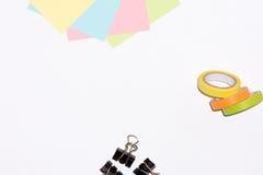 Примечание ручки изолированное на белизне Стоковое Изображение