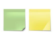 Примечание ручки изолированное на белой предпосылке Стоковая Фотография