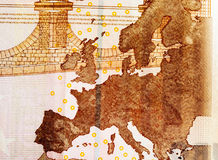 Европа на 10 евро Стоковая Фотография