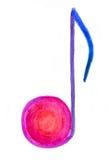 Примечание цвета Стоковое Изображение RF
