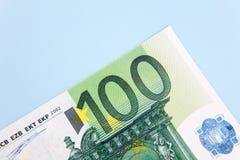 100 примечаний евро Стоковые Фото