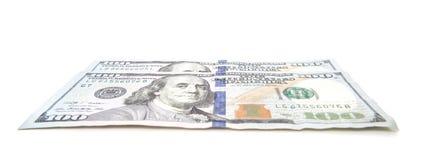 200 примечаний доллара Стоковое фото RF