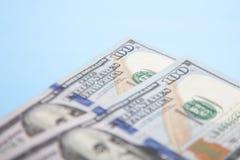200 примечаний доллара Стоковые Фотографии RF