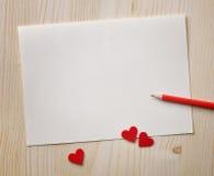 Примечания влюбленности. Предпосылка для конструкции Стоковые Фотографии RF