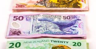 Примечания в валюте Новой Зеландии Стоковые Изображения