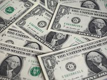 Примечания доллара, Соединенные Штаты стоковое фото rf