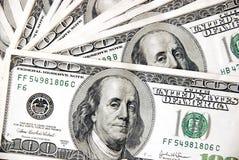 примечания доллара 100 конструкции Стоковые Изображения RF