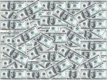 примечания доллара 100 Стоковое Фото