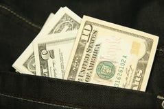 примечания доллара стоковая фотография rf