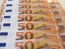 Примечания евро, Европейский союз Стоковые Изображения RF