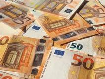 Примечания евро, Европейский союз Стоковые Фотографии RF