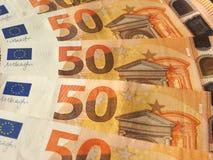 Примечания евро, Европейский союз Стоковое Изображение
