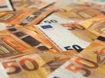 Примечания евро, Европейский союз Стоковые Изображения