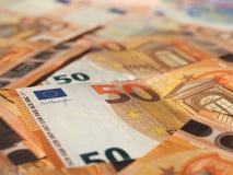 Примечания евро, Европейский союз Стоковые Фото
