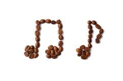 примечания кофе Стоковая Фотография RF