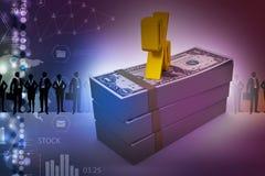 Примечания доллара с знаком процента Стоковое Фото
