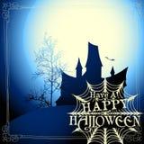 примечания лунного света halloween летучей мыши предпосылки Стоковое Фото