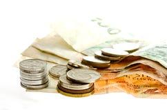 примечания чеха банка Стоковое фото RF