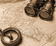 Примечания для морского авантюриста стоковое фото