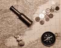 Примечания для морского авантюриста стоковые фото