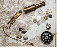 Примечания для морского авантюриста стоковое фото rf