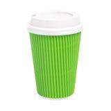Примите вне чашку чаю изолированную на белой предпосылке Стоковые Фотографии RF