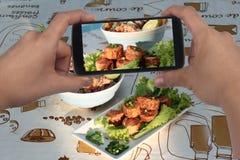 Примите основу моллюска креветки фото к доле Селективный фокус Стоковая Фотография RF