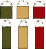 примитива подарка искусства бирка фольклорного установленная Стоковая Фотография RF