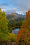 принесите национальный парк горы озера утесистый Стоковые Фото