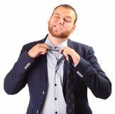 Принимать галстук стоковые фото