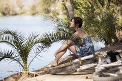 Принимать пролом озером Стоковая Фотография RF