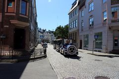 Принимать путешествие в Alesund стоковое изображение