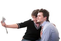 принимать собственных личностей фото пар Стоковое фото RF