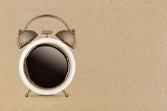 принимать человека принципиальной схемы кофе пролома Стоковая Фотография