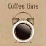 принимать человека принципиальной схемы кофе пролома Стоковое Изображение RF