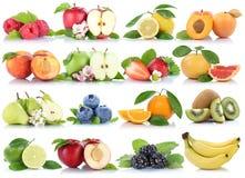 Приносить col клубники банана апельсинов яблок ягод яблока оранжевый Стоковые Фото