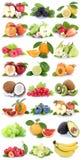 Приносить str свежих фруктов виноградин банана апельсинов яблок яблока оранжевый Стоковое Фото