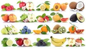 Приносить strawbe лимона банана яблок яблока собрания свежее оранжевое Стоковые Фотографии RF