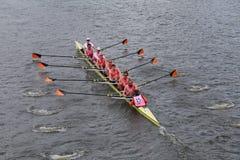 Принстонский университет участвует в гонке в голове регаты Чарльза Стоковое Изображение