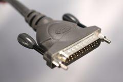 принтер кабеля Стоковое Изображение
