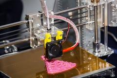 Принтер печатания 3d Стоковое фото RF