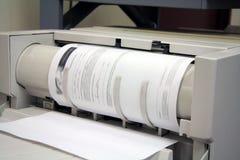 принтер факса копировальной машины Стоковое Изображение