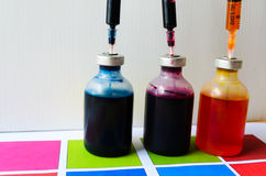 Принтер чернил стоковые изображения