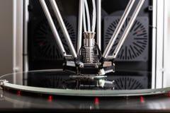 принтер 3D в крупном плане Стоковая Фотография RF
