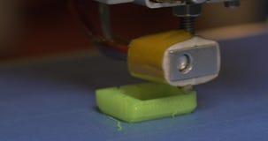принтер 3D напечатал пластичный объект